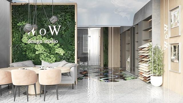 Дизайн интерьера новой студии в Актау